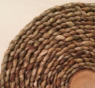 plaiting closeup
