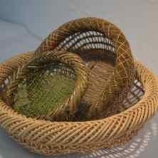 Japanese sculptural basket