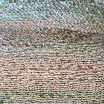 Plaited moses basket detail